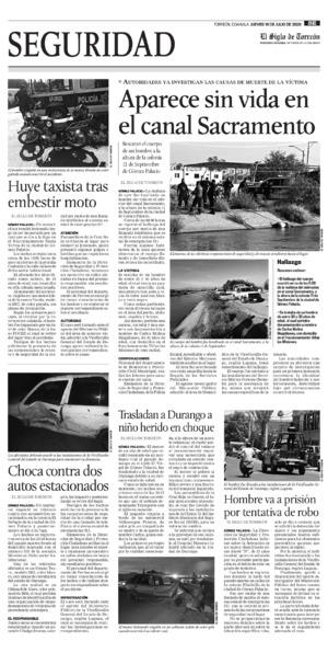 Edición impresa 16tore08