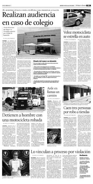 Edición impresa 16tore09
