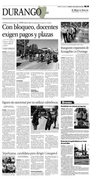 Edición impresa 14tore07