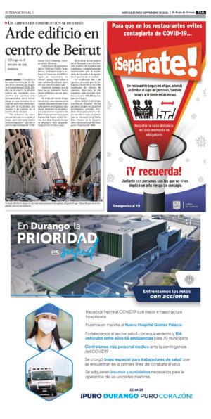 Edición impresa 16tora11