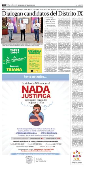 Edición impresa 18tore12