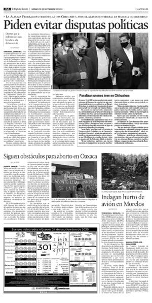 Edición impresa 25tora08
