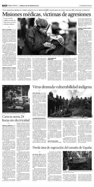 Edición impresa 25tora10