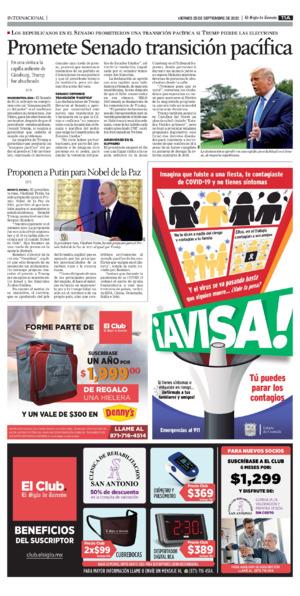 Edición impresa 25tora11