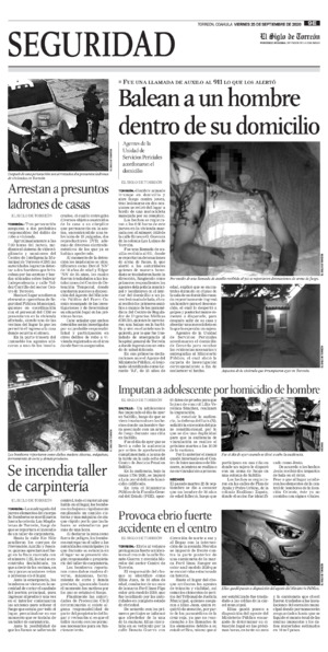 Edición impresa 25tore09