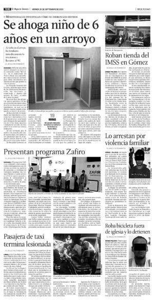 Edición impresa 25tore10