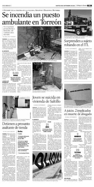 Edición impresa 29tore09