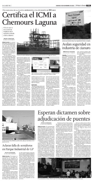 Edición impresa 21tore11