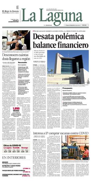 Edición impresa 21tore01