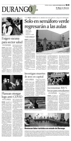 Edición impresa 25tore07