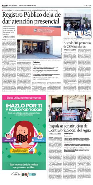 Edición impresa 25tore12