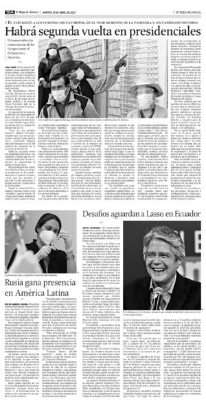 Edición impresa 13tora10