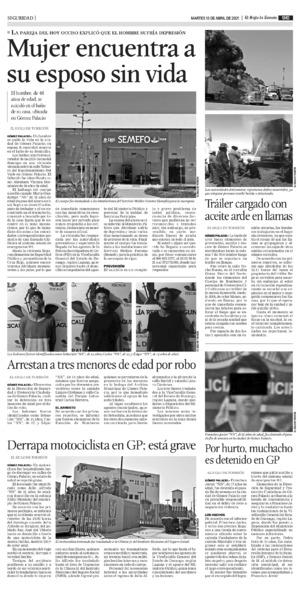 Edición impresa 13tore09