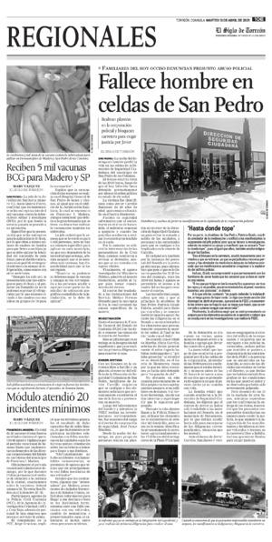 Edición impresa 13tore10