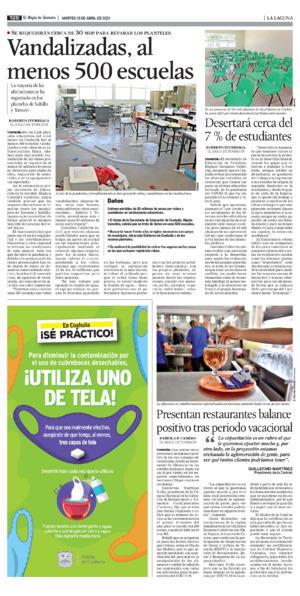 Edición impresa 13tore12