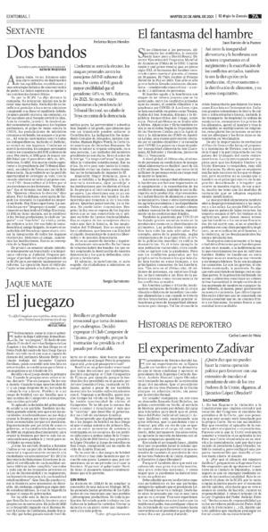 Edición impresa 20tora07