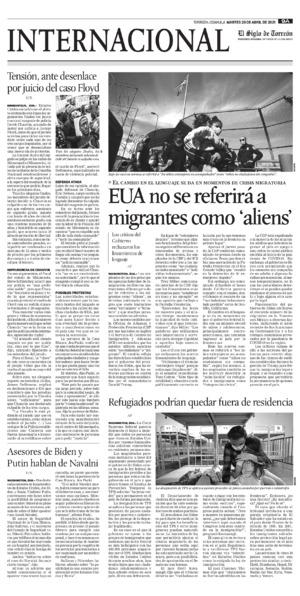Edición impresa 20tora09