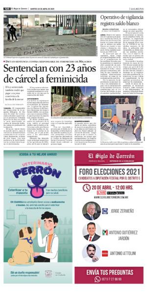 Edición impresa 20tore12