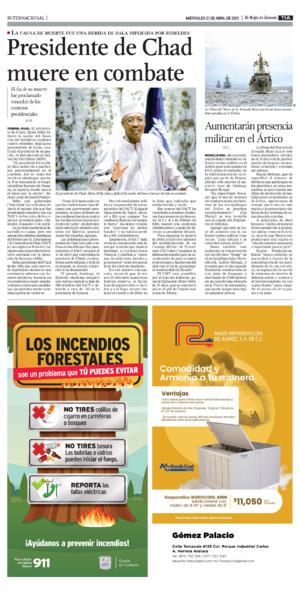 Edición impresa 21tora11