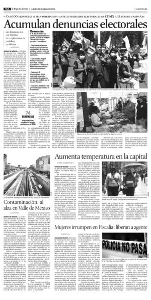 Edición impresa 22tora08