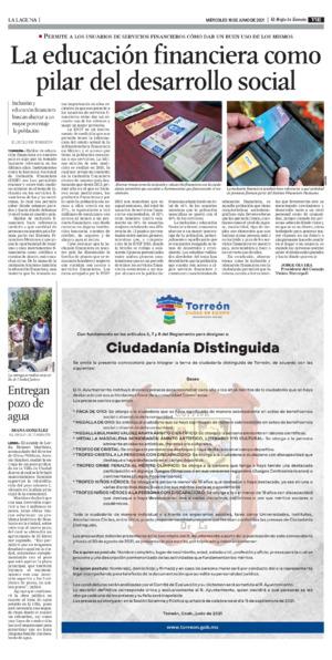 Edición impresa 16tore11
