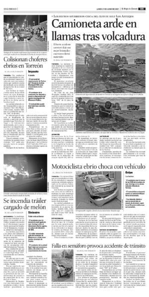 Edición impresa 21tore09
