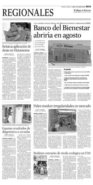 Edición impresa 21tore10