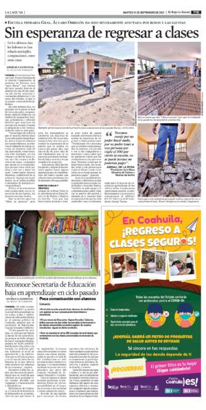 Edición impresa 14tore11