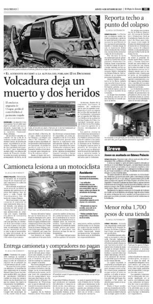 Edición impresa 14tore09