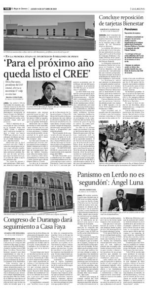 Edición impresa 14tore10